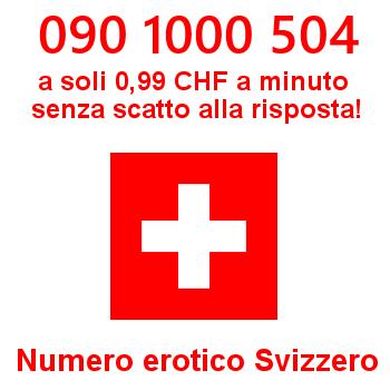 Telefono erotico dalla Svizzera